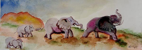 Lil Taylor - Line of Elephants II