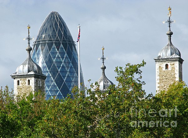 Ann Horn - London Towers