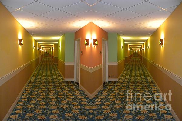 Thomas Woolworth - Long Hallway 02 Mirror Image