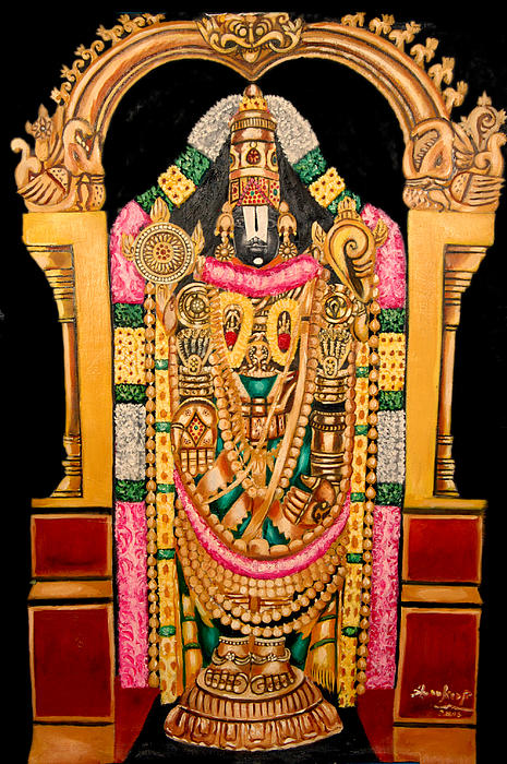 Sankaranarayanan - Lord Srinivasa Of Thirumala-thirupathy-india