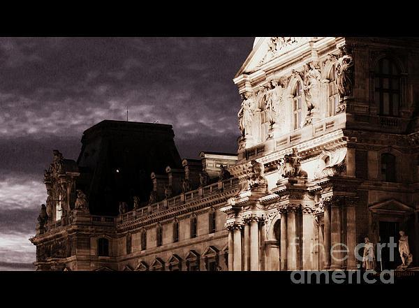 Nader Rangidan - Louvre a light in dark night