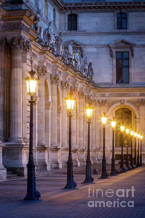 Brian Jannsen - Louvre Lampposts
