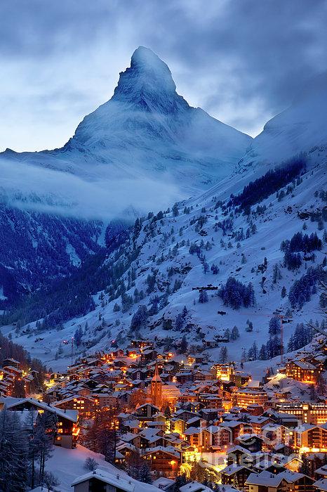 Brian Jannsen - Matterhorn at Twilight