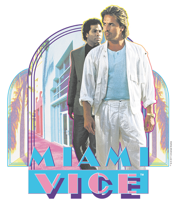 Miami Vice Miami Heat T Shirt For Sale By Brand A