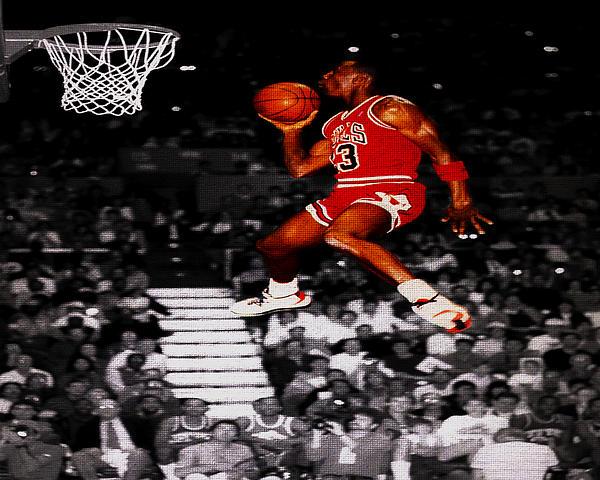 Michael Jordan Suspended In Mid Air Sweatshirt
