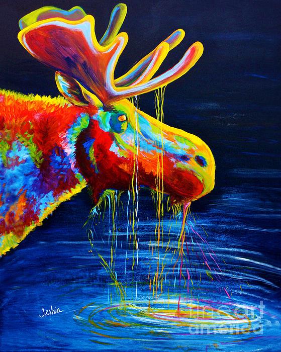 Teshia Art - Moose Drool