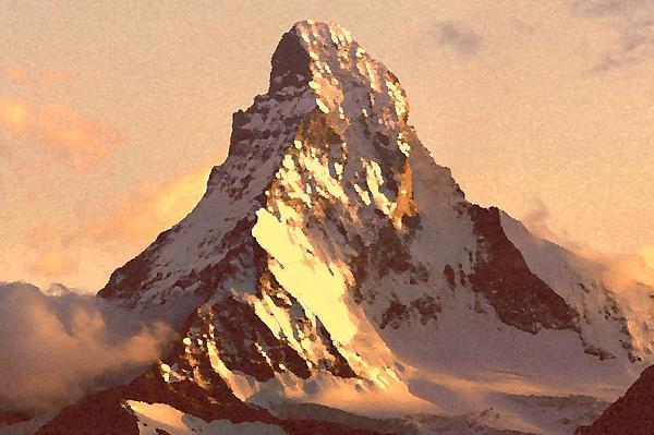 Irina Sumanenkova - Mount Matterhorn At Sunset