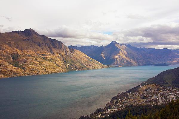 Stuart Litoff - Mountains Meet Lake #5