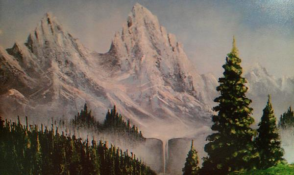 Donna Eaves - Moutain Waterfall