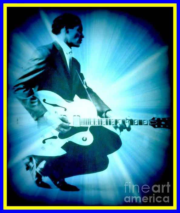 Kelly Awad - Mr Chuck Berry Blueberry Hill Style Edited