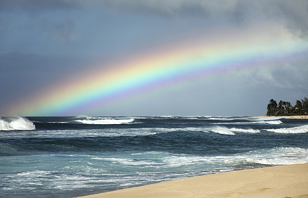 Vince Cavataio - Printscapes - North Shore Oahu Rainbow