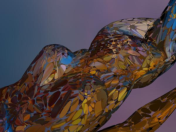 Louis Ferreira - Nude Abstract