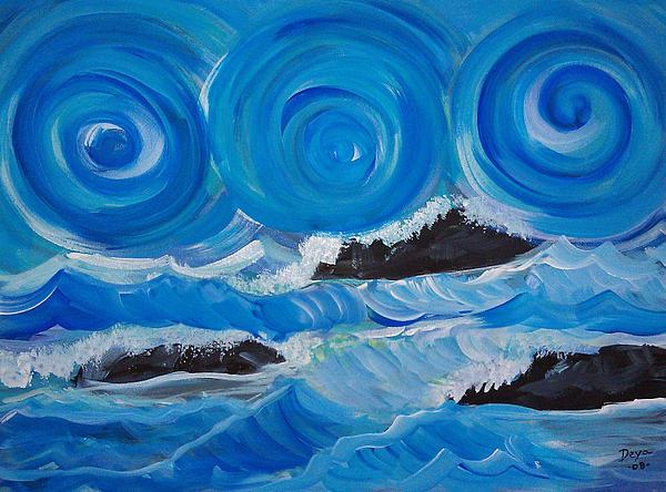 Deyanira Harris - Ocean waves