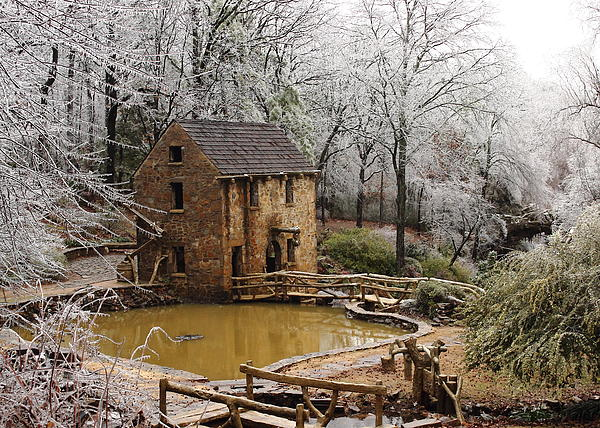 Karen Beasley - Old Mill Wintertime