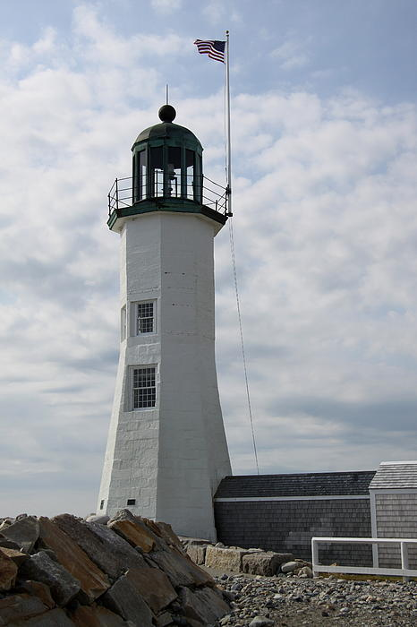Christiane Schulze Art And Photography - Old Scituate Light - Cedar Point