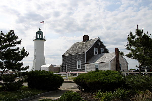 Christiane Schulze Art And Photography - Old Scituate Light I - Cedar Point