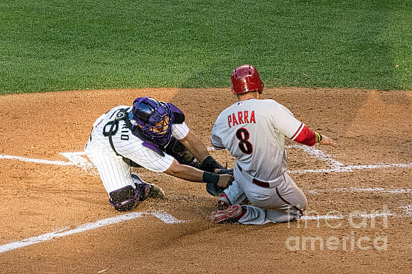 Bob Hislop - Out at the Plate