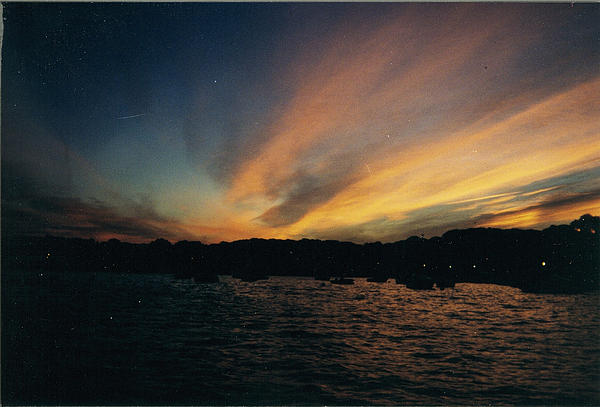 John Telfer - Painted Sunrise Over The Long Island Sound