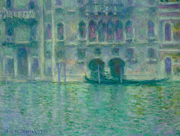 Artist Claude Monets Palazzo Dario Painting Print Design Weekender Bag