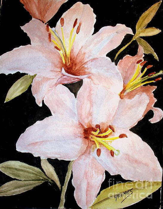 Pale Pink Lilies Iphone X Case For Sale By Carol Grimes