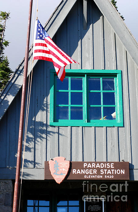 Connie Fox - Paradise Ranger Station. Mt. Rainier National Park