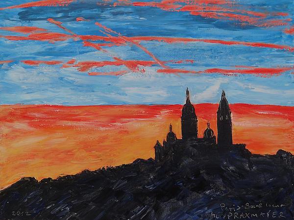 Agnieszka Praxmayer - Paris - Eglise Sacre Coeur