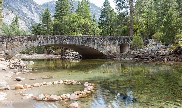 John M Bailey - Picturesque Bridge in Yosemite Valley