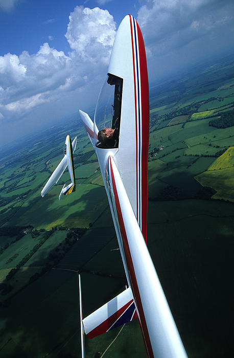 Glider Post Cards x 5