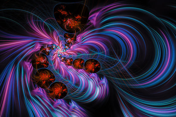 ВИНОРА. Pink-blue-purple-red-abstract-fractal-art-matthias-hauser