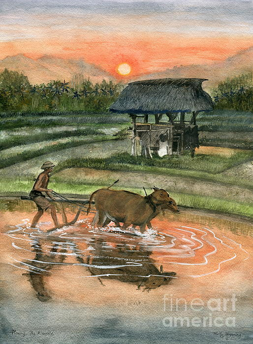Melly Terpening - Plowing The Ricefield