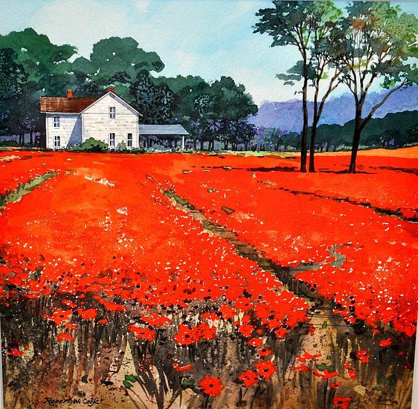 Robert W Cook  - Poppie Fields