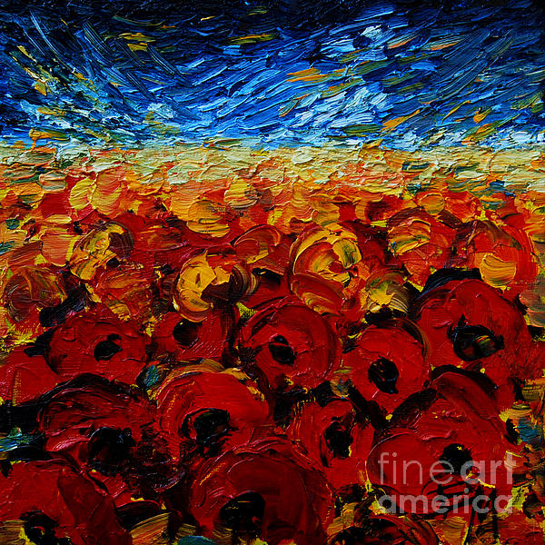 Mona Edulesco - Poppies 2