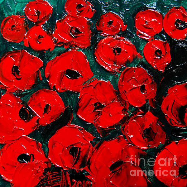 Mona Edulesco - Poppies 3