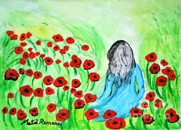 Ramona Matei - Poppies Field Illusion
