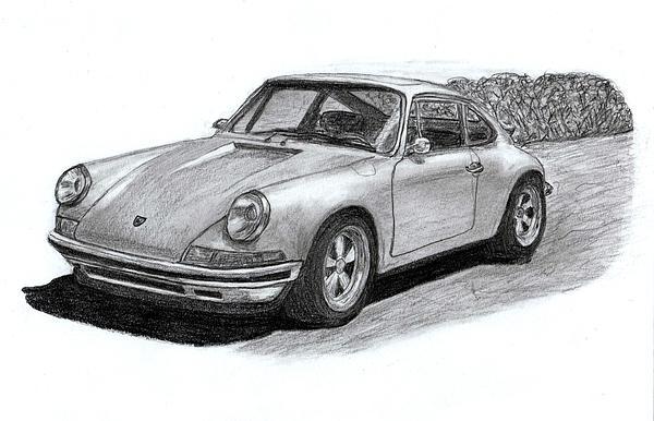 Steve Fribek - Porsche 911 classic sportcar.