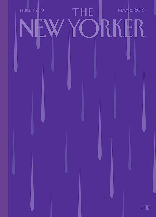 Purple Rain by Bob Staake