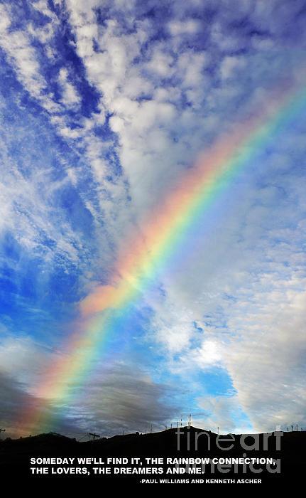 Jim Fitzpatrick - Rainbow in a Cloud Filled Sky