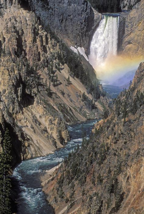 Sandra Bronstein - Rainbow on the Lower Falls