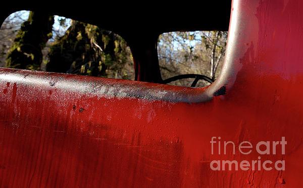 Steven Milner - Rear View - Vintage Dodge Truck