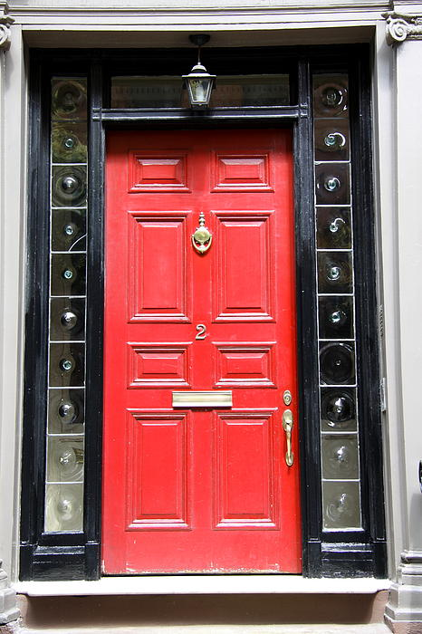 Christiane Schulze Art And Photography - Red Door Of Boston
