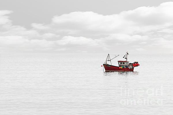 Richard Thomas - Red Fishing Trawler