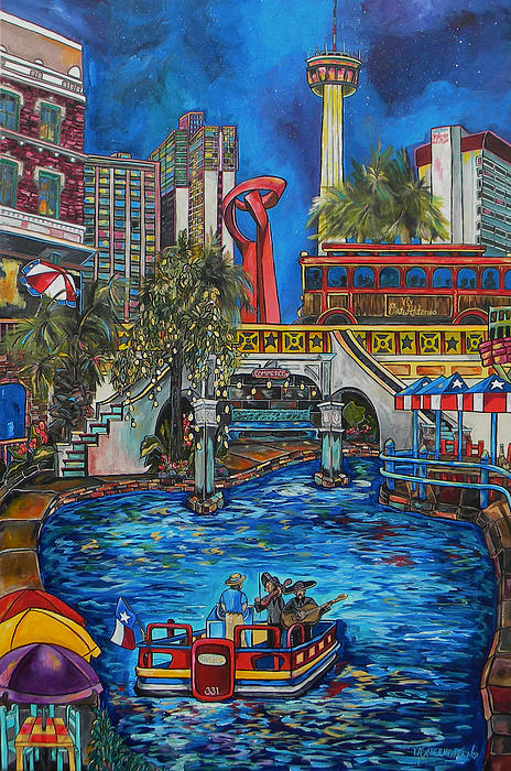 Patti Schermerhorn - Riverwalk View
