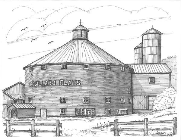 Richard Wambach - Robillard Flats Round Barn