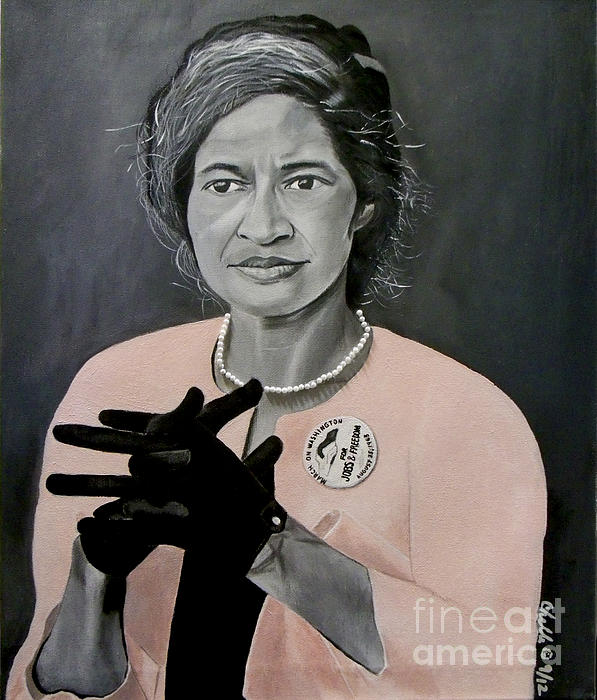 Chelle Brantley - Rosa Parks