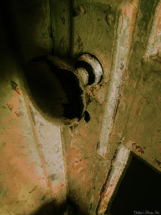 Debbie Portwood - Rustic Doorknob art II