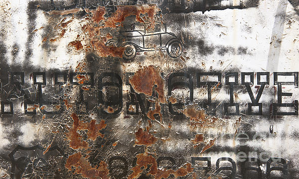 Lee Craig - Rustys Rough Around the Edges Automotive Abstract