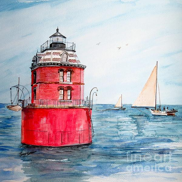 Nancy Patterson - Sandy Point Lighthouse 2