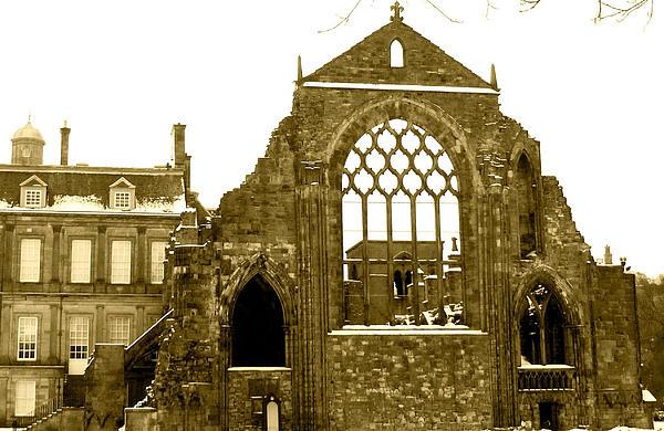 Katie Wing Vigil - Scottish Ruins