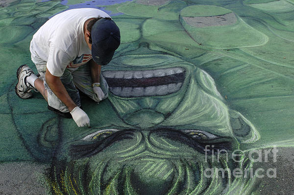 Bob Christopher - Sidewalk Art 4