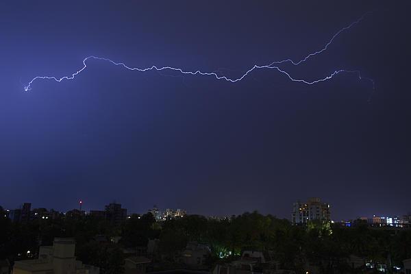 Sunil Kapadia - SKC 1451 Spark over a City